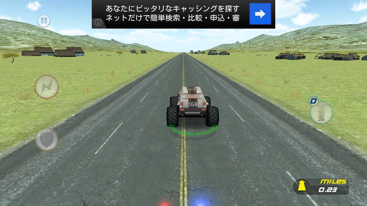 クレイジーモンスタートラック - エスケイプ androidアプリスクリーンショット1