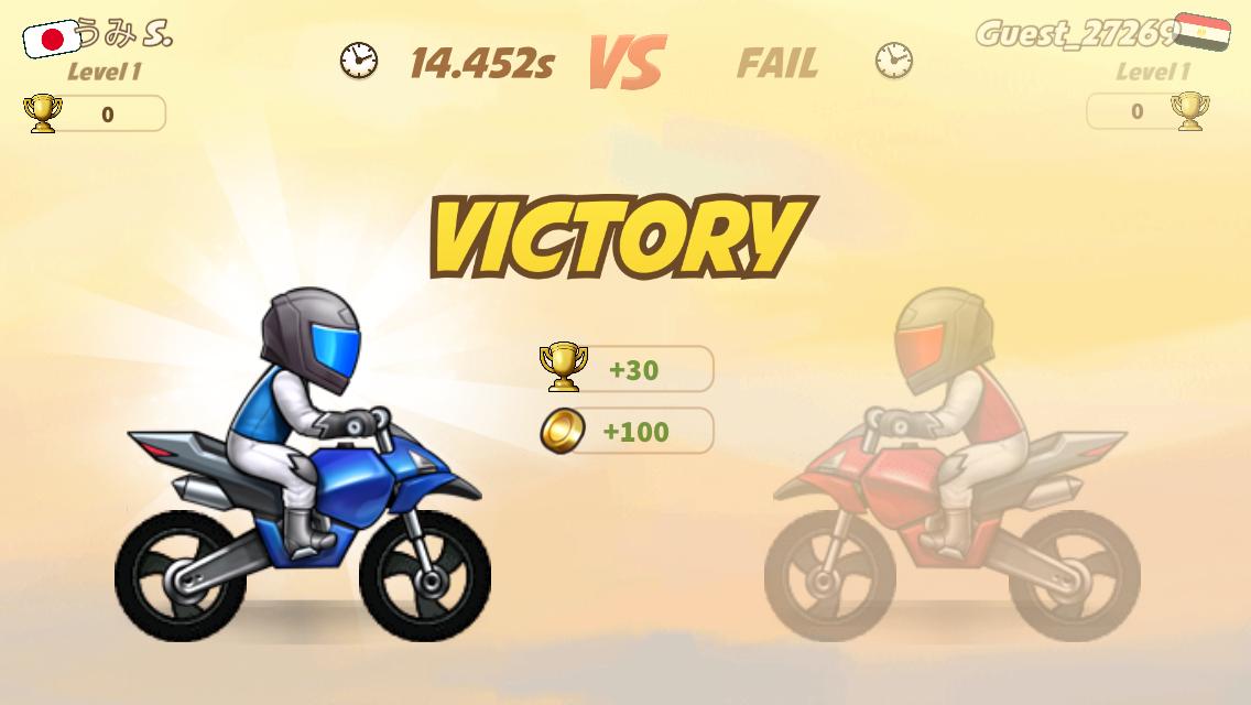 androidアプリ バイクレース(Bike Race)攻略スクリーンショット6