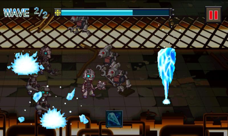 ガラクタ戦記 ブリキウス androidアプリスクリーンショット1