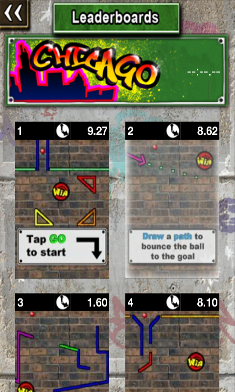 グラフィティボール androidアプリスクリーンショット1