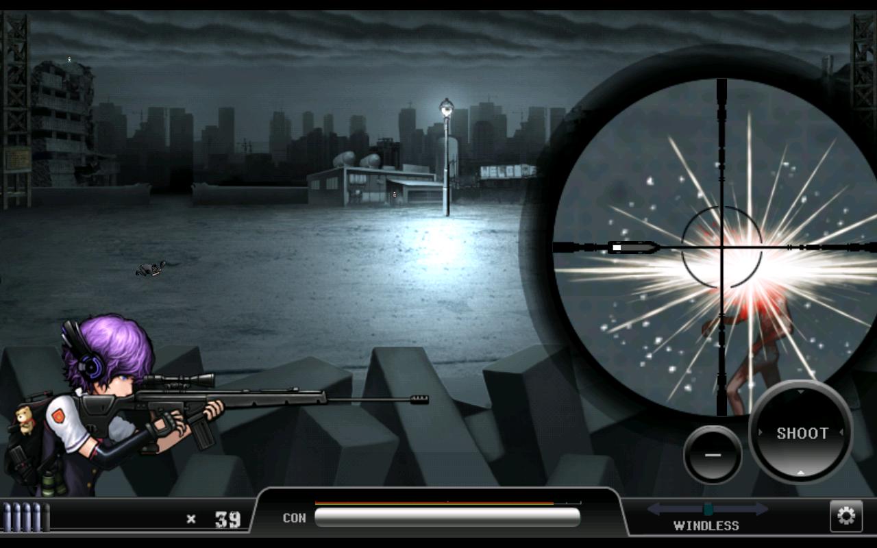 ゴーストスナイパー :ゾンビ androidアプリスクリーンショット2