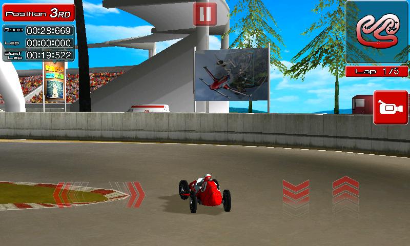 レーシング レジェンズ androidアプリスクリーンショット1