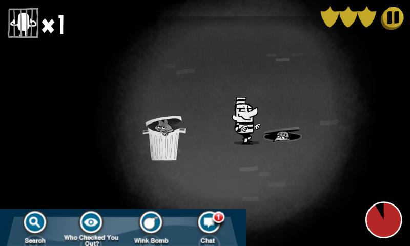脱獄!プリズンブレイクゲーム androidアプリスクリーンショット1