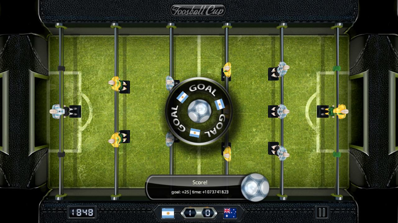 フーズボールカップ androidアプリスクリーンショット1