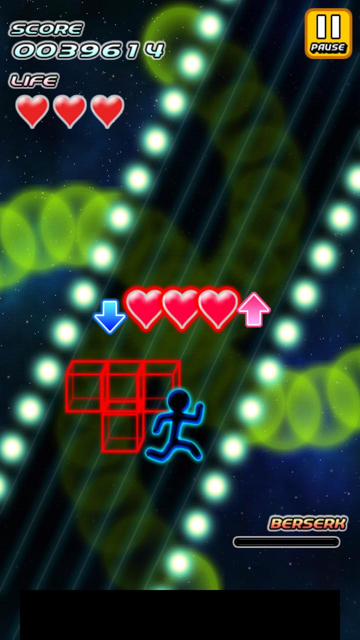 超時空爆走 アボさん ~Galaxy Runner ~ androidアプリスクリーンショット1
