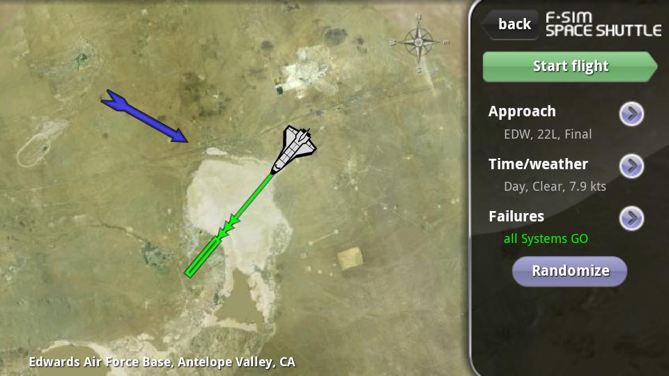 androidアプリ F-Sim スペースシャトル攻略スクリーンショット2
