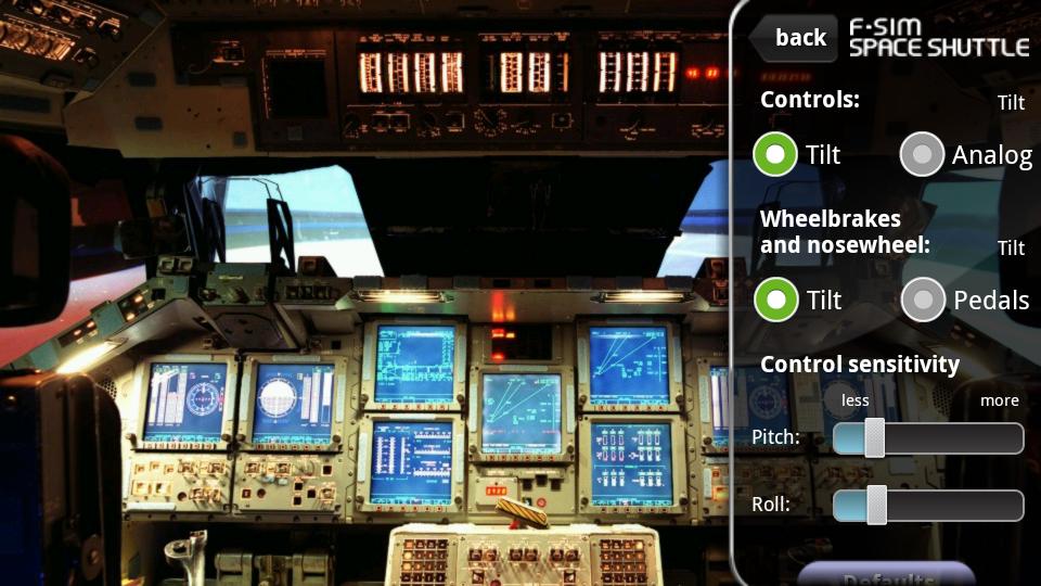 androidアプリ F-Sim スペースシャトル攻略スクリーンショット4