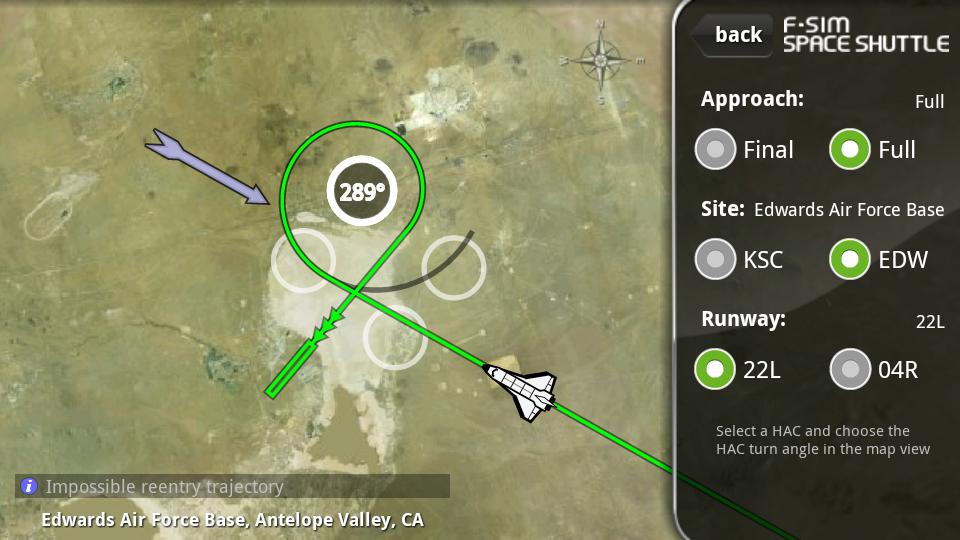 F-Sim スペースシャトル androidアプリスクリーンショット3