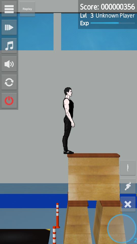 androidアプリ バックフリップマッドネス攻略スクリーンショット1