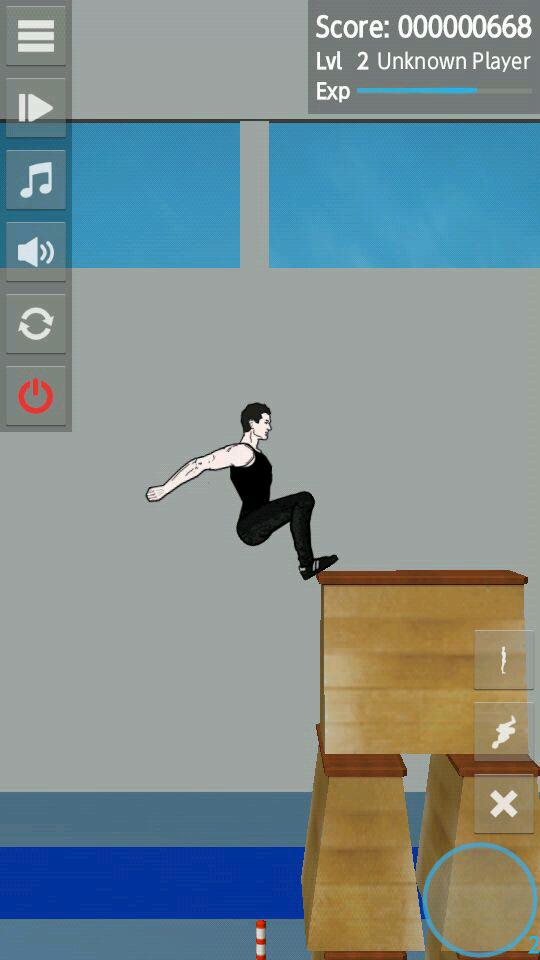 androidアプリ バックフリップマッドネス攻略スクリーンショット2