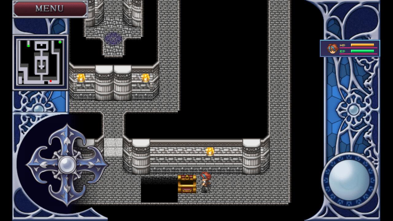 androidアプリ RPG アルファディア2 - KEMCO攻略スクリーンショット1