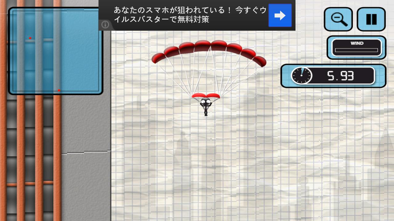 androidアプリ スティックマンベースジャンパー攻略スクリーンショット3