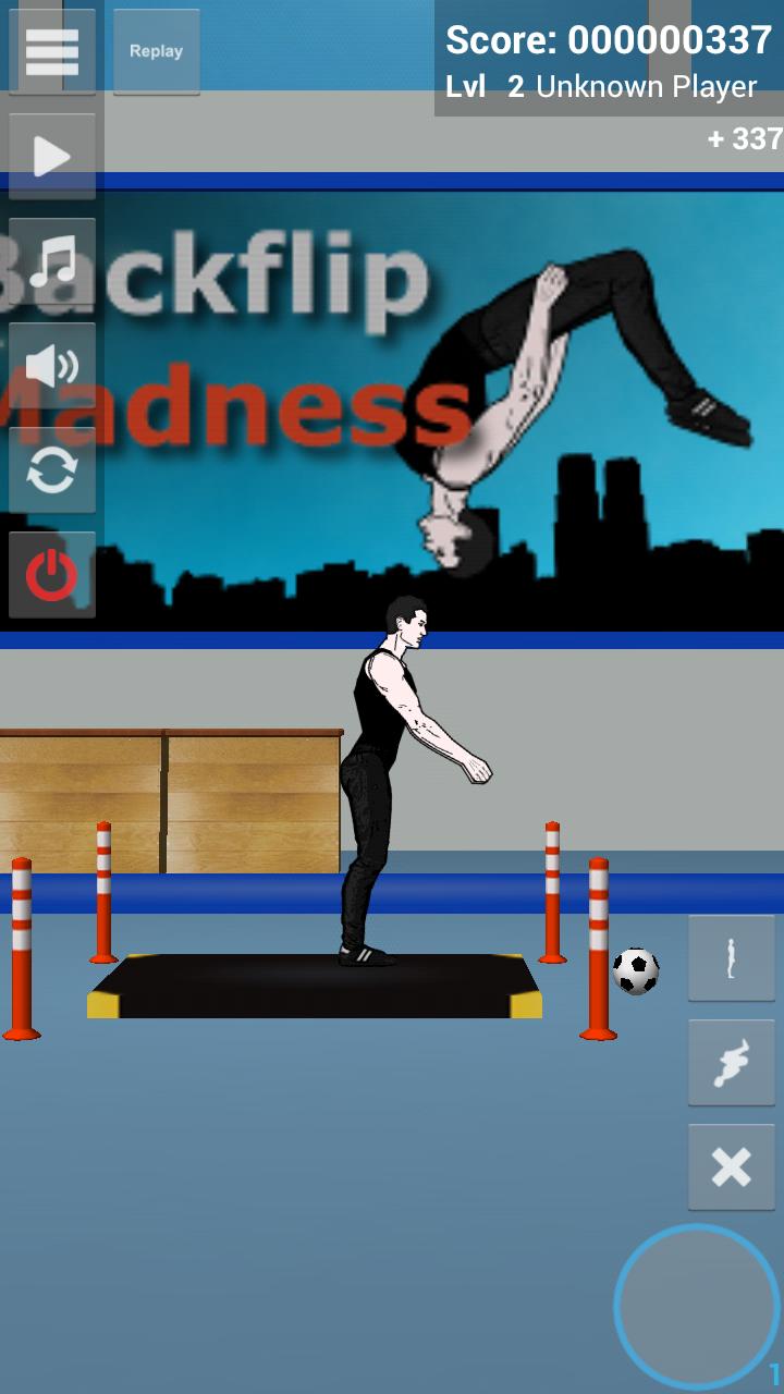 androidアプリ バックフリップマッドネス デモ攻略スクリーンショット5