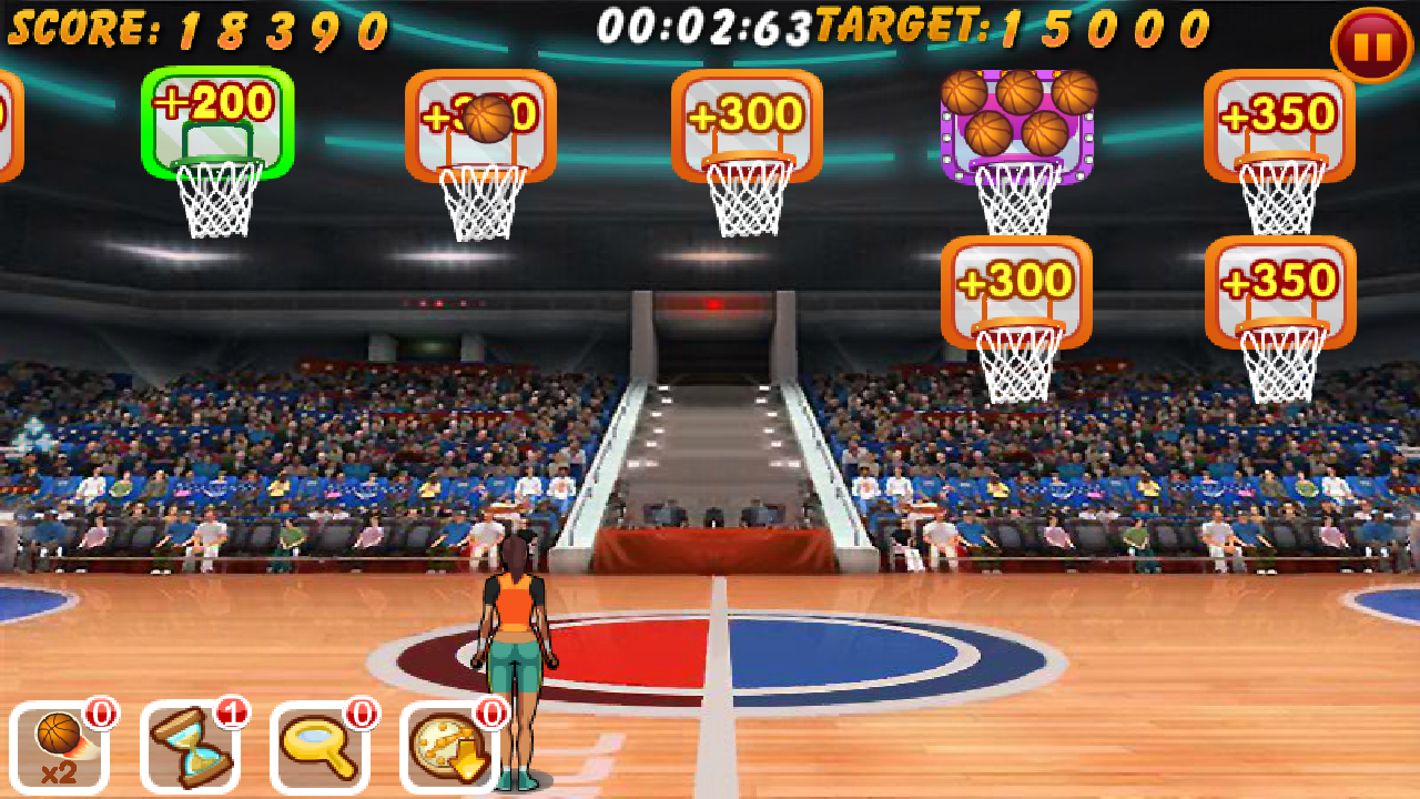 バスケットボールオールスター androidアプリスクリーンショット1