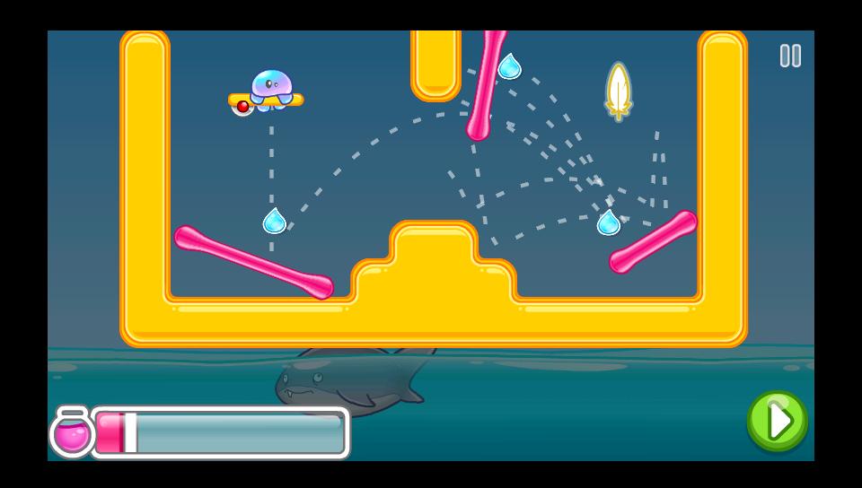 androidアプリ ジェリーフロップ攻略スクリーンショット3