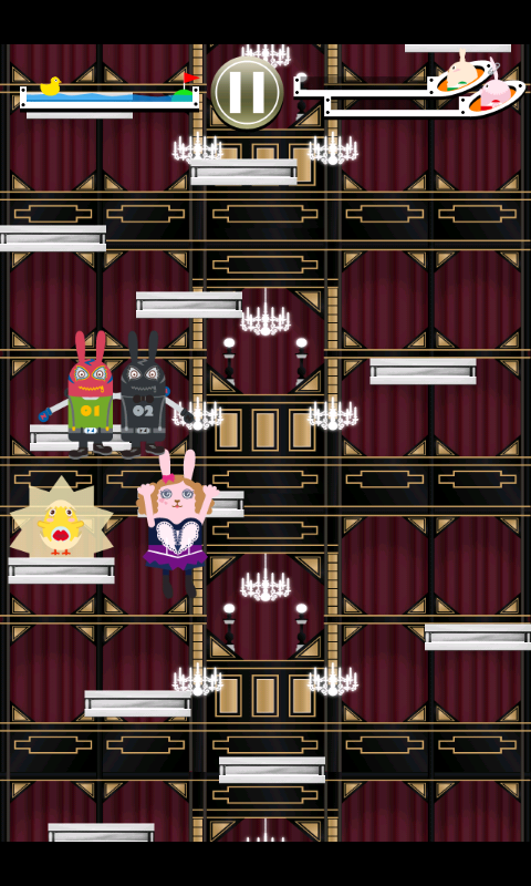 アムロッチ・ウサビッチJUMP! androidアプリスクリーンショット1