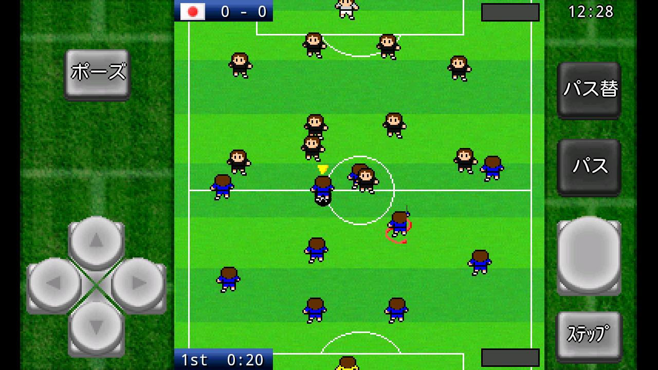 androidアプリ がちんこサッカー攻略スクリーンショット1
