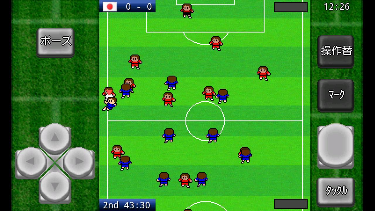 androidアプリ がちんこサッカー攻略スクリーンショット2