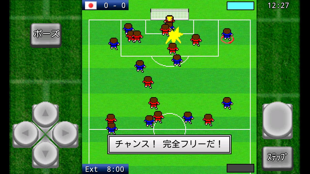 androidアプリ がちんこサッカー攻略スクリーンショット3