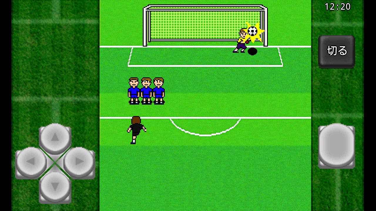 androidアプリ がちんこサッカー攻略スクリーンショット4