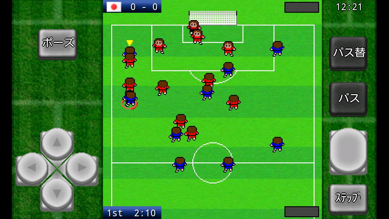 がちんこサッカー androidアプリスクリーンショット1