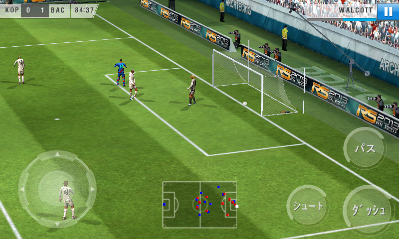 リアルサッカー2013 androidアプリスクリーンショット1