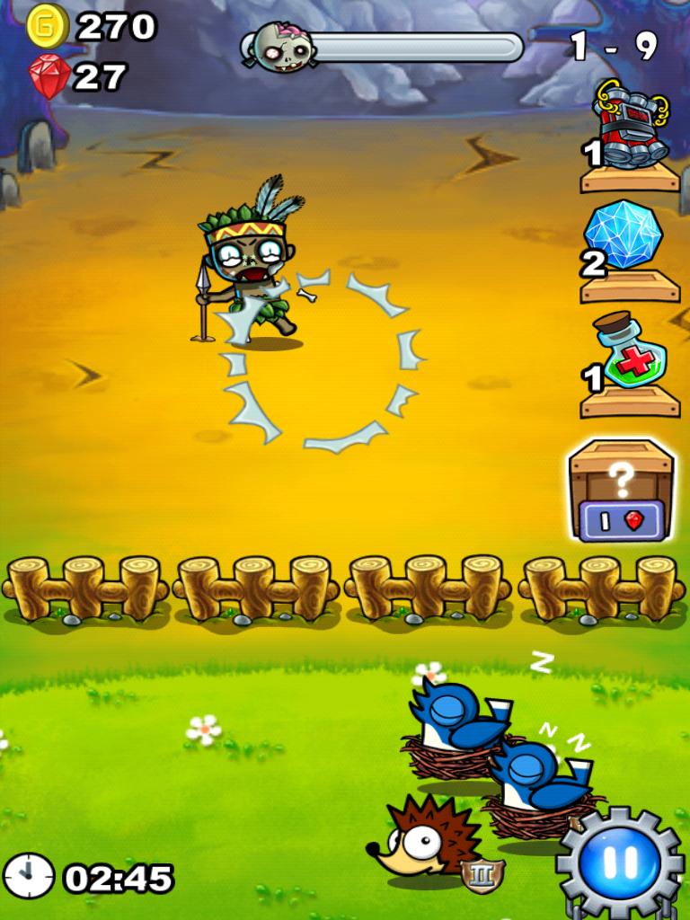最強キモカワ系!牧場勇者(無料ゲーム) androidアプリスクリーンショット1