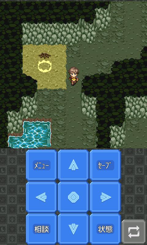 androidアプリ 勇者の剣と魔王の冠攻略スクリーンショット1