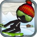 スティックマン・スキーレーサー(フリー)