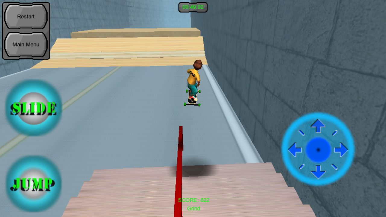 Freebord Snowboard The Streets androidアプリスクリーンショット1