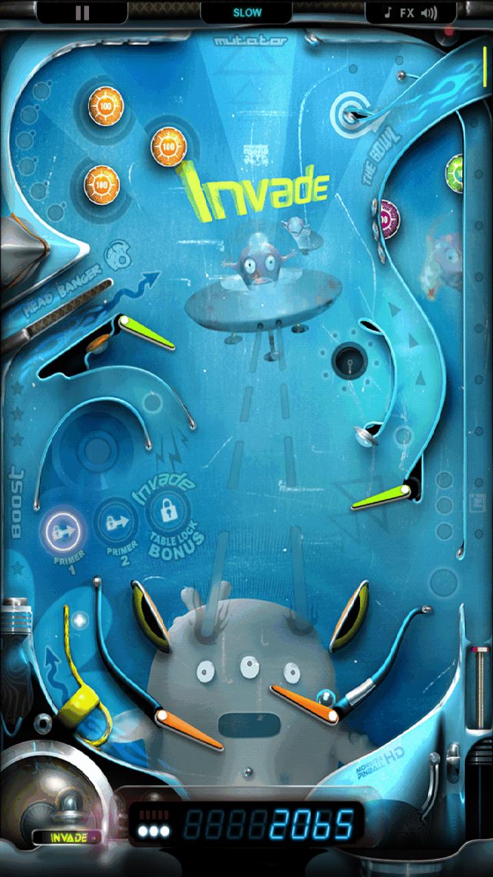 androidアプリ モンスターピンボール HD攻略スクリーンショット1