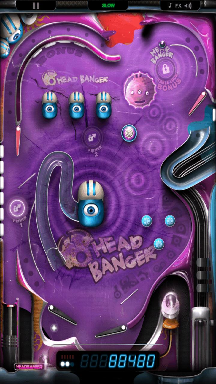 モンスターピンボール HD androidアプリスクリーンショット1