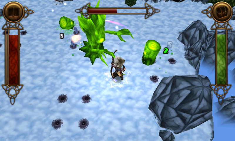 ポケットRPG androidアプリスクリーンショット1