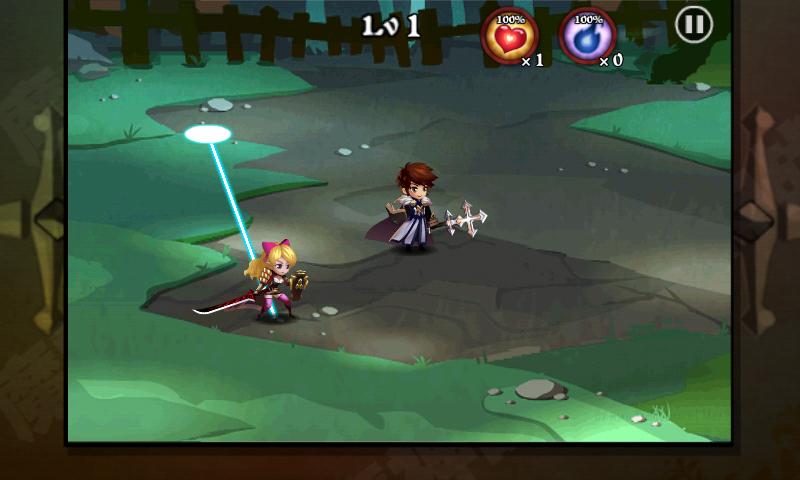 androidアプリ 魔神ウォーズ攻略スクリーンショット2