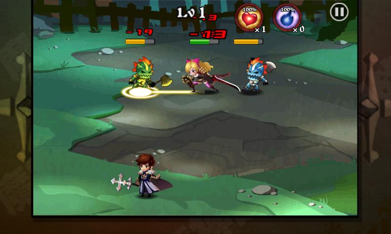 androidアプリ 魔神ウォーズ攻略スクリーンショット3