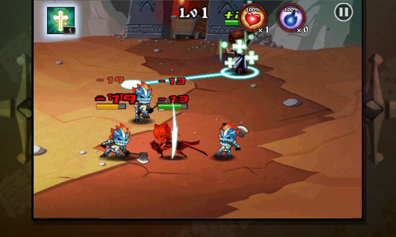 魔神ウォーズ androidアプリスクリーンショット1