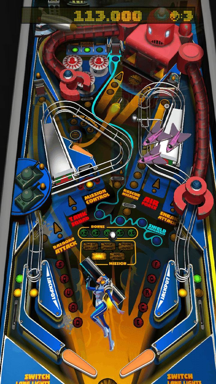 リベンジ オブ ザ ロボット androidアプリスクリーンショット1