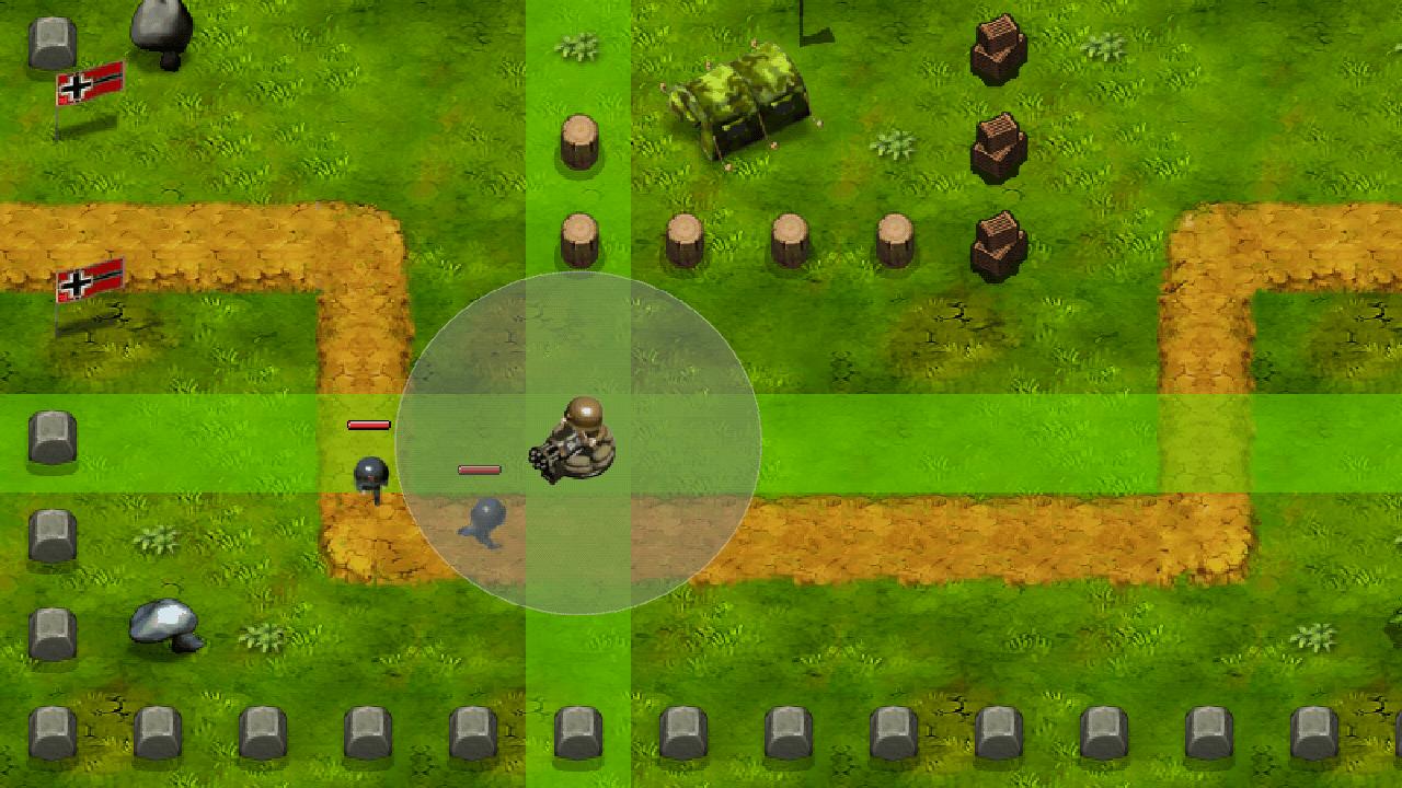 androidアプリ リトル司令官 - 第二次世界大戦タワーの防衛攻略スクリーンショット1