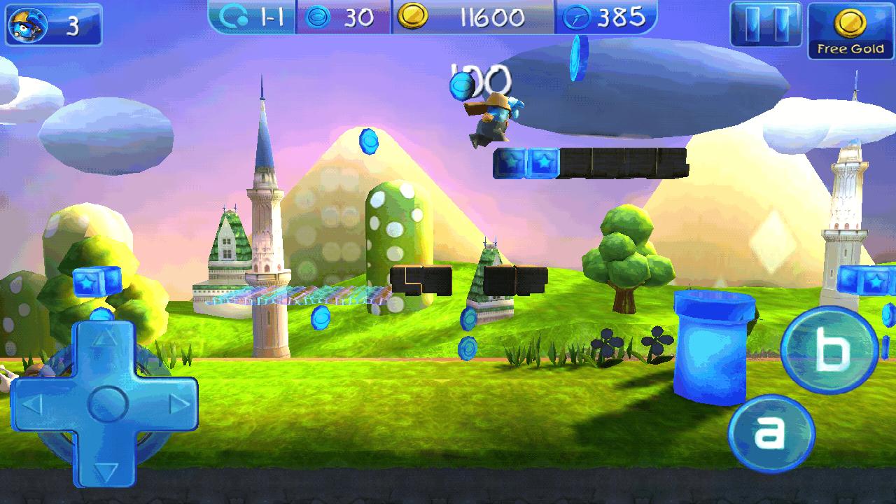 androidアプリ 3D エックス ウォーターマン攻略スクリーンショット2