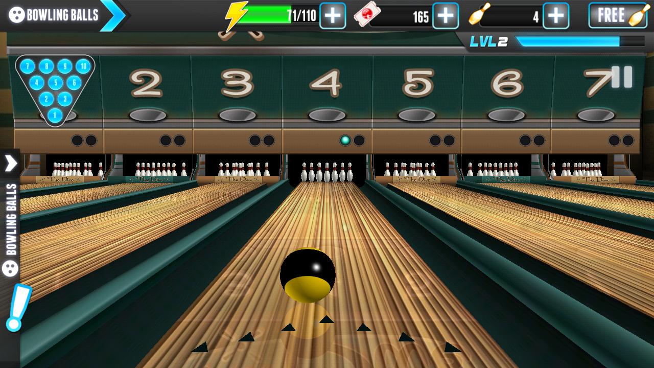 PBA® ボウリング チャレンジ androidアプリスクリーンショット1