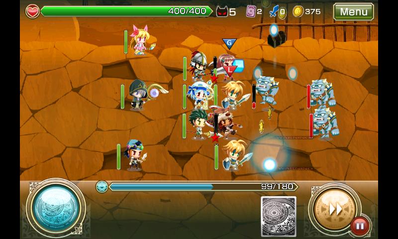 禁断召喚!サモンマスター androidアプリスクリーンショット1