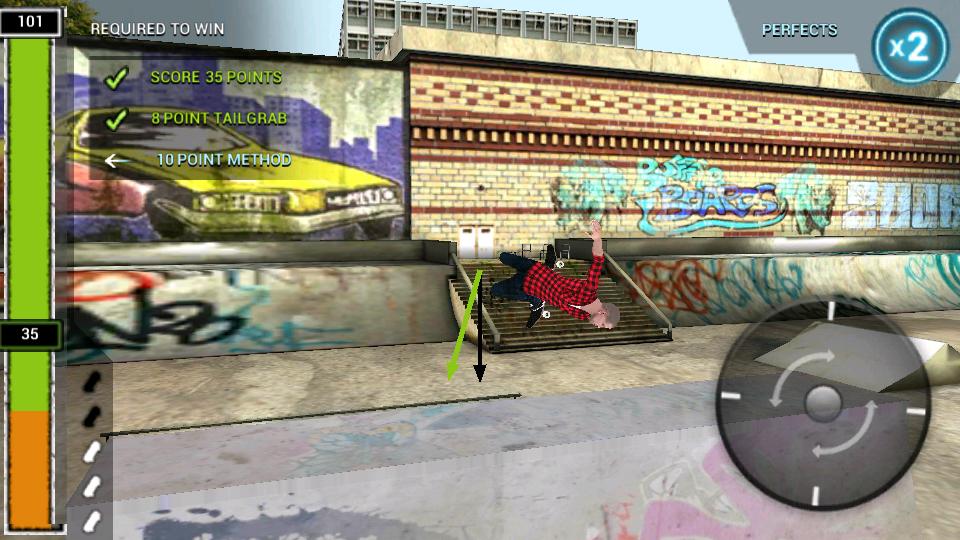 androidアプリ ボードタスティック スケートボーディング2攻略スクリーンショット3