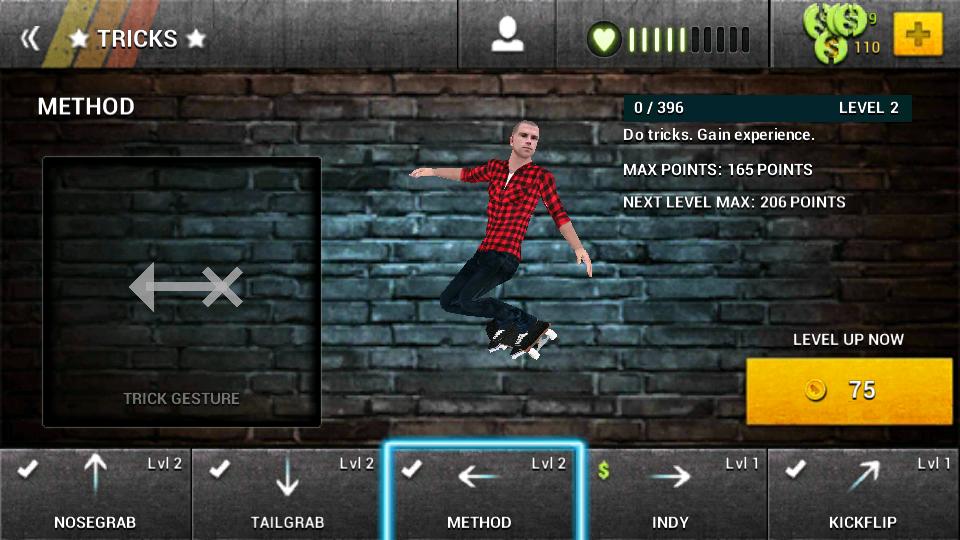 androidアプリ ボードタスティック スケートボーディング2攻略スクリーンショット4