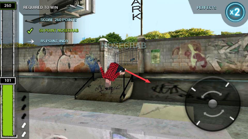 ボードタスティック スケートボーディング2 androidアプリスクリーンショット1