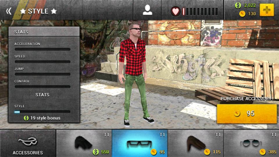 ボードタスティック スケートボーディング2 androidアプリスクリーンショット3