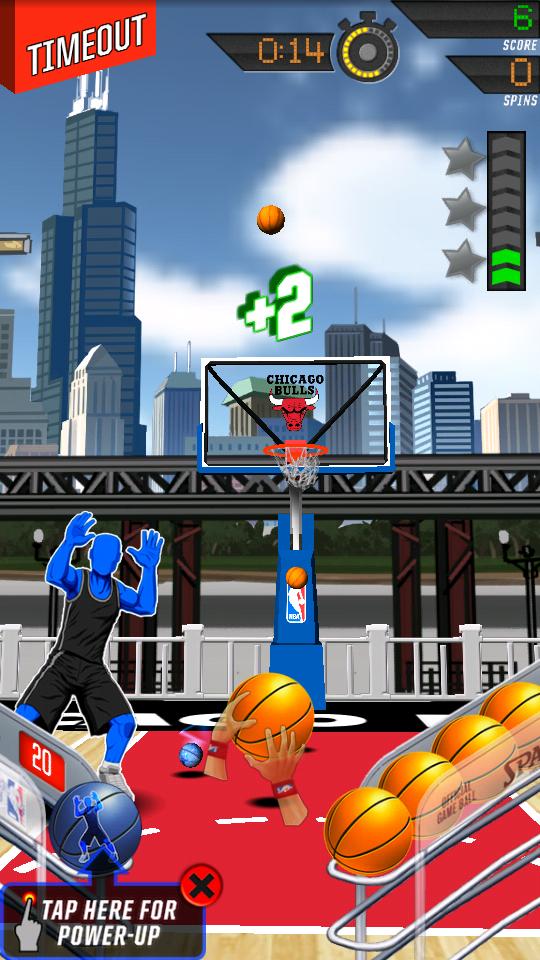 NBA:キング・オブ・ザ・コート2 androidアプリスクリーンショット1