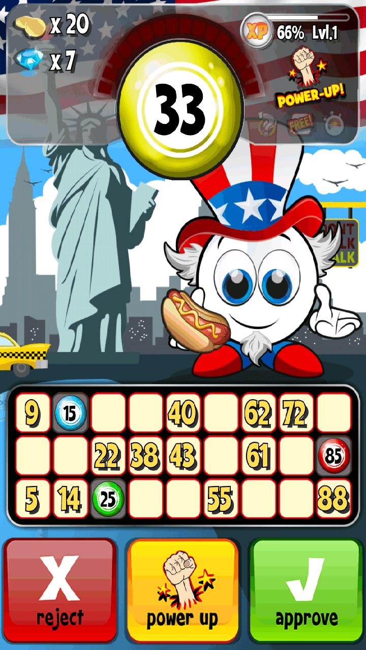 ミスタービンゴボール androidアプリスクリーンショット1