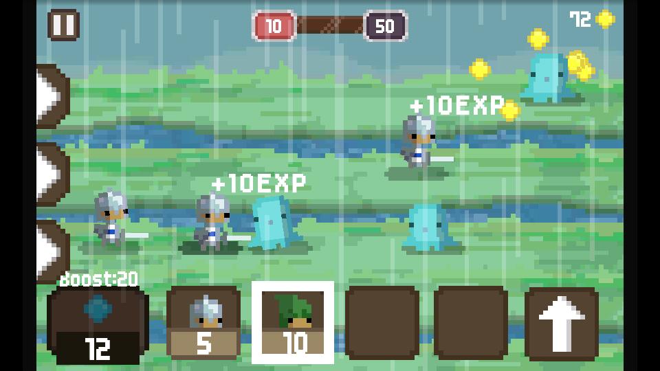 androidアプリ ピクセル・キングダム攻略スクリーンショット1