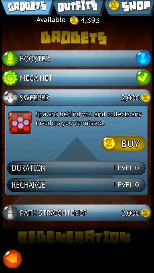 androidアプリ キャッチャ・キャッチャ・エイリアンズ!攻略スクリーンショット4