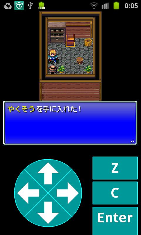 androidアプリ テンミリRPG攻略スクリーンショット2